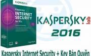 Kaspersky Internet Security 2016 + Key Bản Quyền 2 Năm