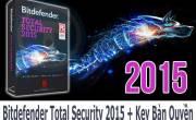 Bitdefender Total Security 2015+Key Bản Quyền