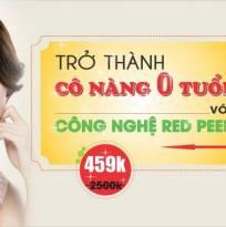 Cải lão hoàn đồng cho làn da với công nghệ Red Peel Hàn Quốc