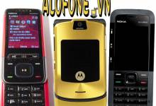 Motorola v3i với Nokia 5610 và Nokia 5310 một thời nổi danh