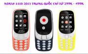 Tổng hợp các mẫu nokia 3310 2017 Trung Quốc giá siêu rẻ