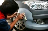 Bí quyết xử lý vết trầy xước hiệu quả cho xe ô tô