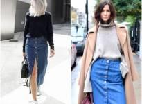 Chân váy jeans xu hướng thời trang hè cực hot 2016