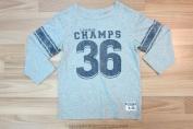 Áo cotton hình Champion League dài tay hiệu Place