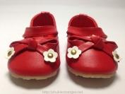 Giầy LuBoshoses màu đỏ dành cho bé gái