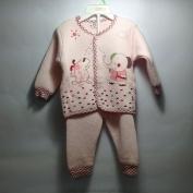 Bộ quần áo nỉ thu đông dành cho bé gái
