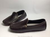 Giày lười Moka màu nâu đậm dành cho bé trai