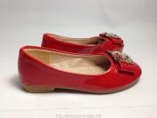 Giày B&M mũi kín màu đỏ hàng Việt Nam xuất khẩu