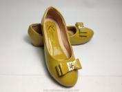 Giày Nuansini Kids màu vàng hàng Việt Nam xuất khẩu