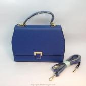 Túi xách Heng Li màu xanh