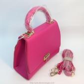 Túi xách nữ HENGLI màu hồng cho dây đeo
