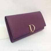 Ví cầm tay nữ Christian Dior màu tím