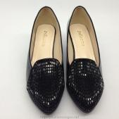Giày cao gót ZSIJIA màu đen có gót vuông