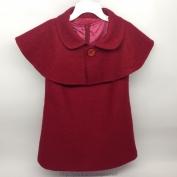 Váy Shimamiya màu đỏ dành cho bé gái