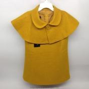 Váy Shimamiya màu vàng dành cho bé gái