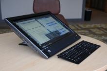 HP TouchSmart Elite 9300-23'' FULL HD Touch/i3 2120/chuột + bàn phím/RAM 2 GB, HDD500GB/ DVDRW/ audi