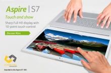 Acer Aspire S7-391-6822 ốp kính Gorilla/13.3' Full HD IPS Touch/i5 3317U/128GB SSD/Ram4GB