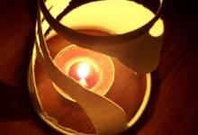 Biến tấu đèn từ cốc cafe giấy