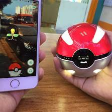 Sạc dự phòng Pokeball 10.000 mAh ( Magic Ball Power Bank )