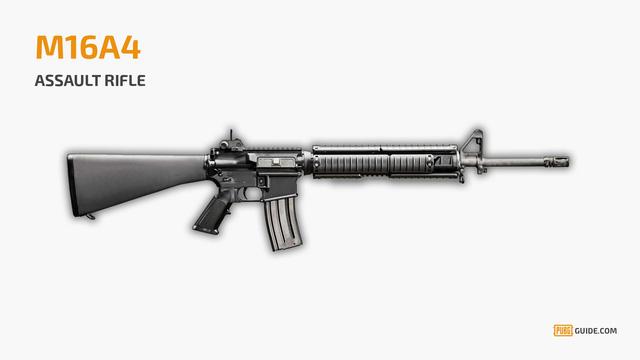 Móc khóa PUBG - M16A4