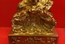 Ấn rồng linh vật phong thủy giả cổ