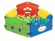 Nhà banh mầm non nhập khẩu    QUY CÁCH 1.5 m2 X 80 Cm