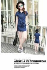 Set bộ đồ jean giả váy - BD212 - 165 9ĐÃ CÓ HÀNG)