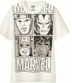 T shirt uniqlo Marvel - ATB511