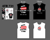 T Shirt rộng supreme Jan - ATB731