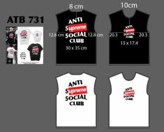 T Shirt rộng supreme Jan - ATB731