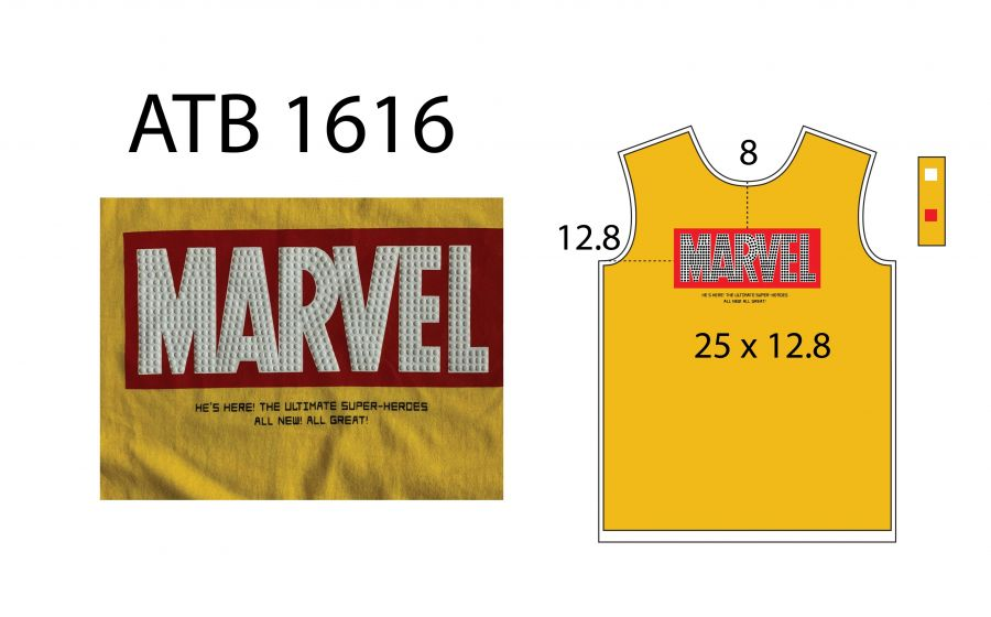 T Shirt Marvel Vinh ATB1616