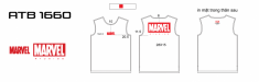 T shirt marvel vinh ATB1660
