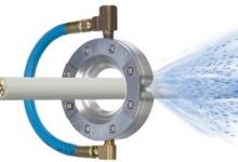 Công nghệ Vòng khí áp suất cao - Làm sạch đường ống