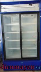 Tủ mát cũ Pepsi 1000 lít hàng nhập. BH 1 năm