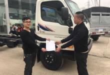 Những xe tải 7 tấn hd700 Đồng Vàng đầu tiên xuất ra thị trường