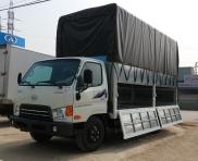 Xe tải 3.5 tấn Hyundai thùng bạt