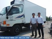 Hyundai 3.5 tấn HD72 đông lạnh Đồng Vàng