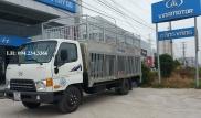 Xe tải Hyundai HD72 chở gia súc
