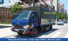 Xe tải Hyundai 7 tấn thùng khung mui phủ bạt
