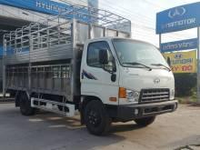 Xe tải Hyundai 7 tấn HD700 Đồng Vàng chở gia súc