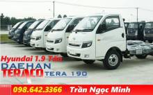 Xe tải hyundai 1.9 tấn Daehan Teraco 190