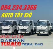 Xe tải isuzu 2 tấn 4 Daehan Tera 240