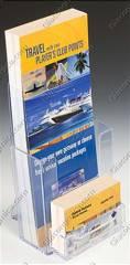 Kệ mica để brochure 24