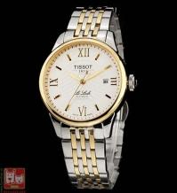 Đồng hồ cơ Automatic 12BL0447271-White điểm vàng sang trọng