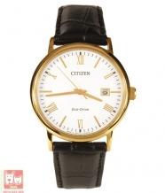 Đồng hồ Citizen BM6772-05A dây da mạ vàng sang trọng dành cho nam