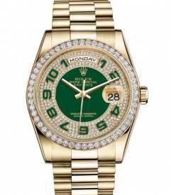 Đồng hồ Rolex Daydate R115.266 Diamond automatic cao cấp