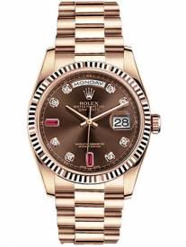 Đồng hồ Rolex Rose Gold R118235F sang trọng cho quý ông