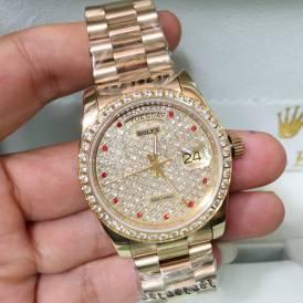 Đồng hồ Rolex Diamond R2552 sang trọng, đẳng cấp