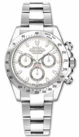 Rolex Cosmograph Daytona 116520 - White Automatic