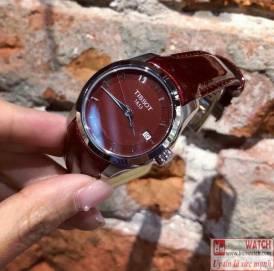 Tissot Couturier Lady Quartz T035.210.16.371.00 đỏ quyến rũ